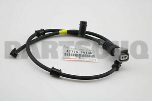 FRONT RH PAD WEAR INDICATOR 47770-50090 Toyota OEM Genuine WIRE ASSY
