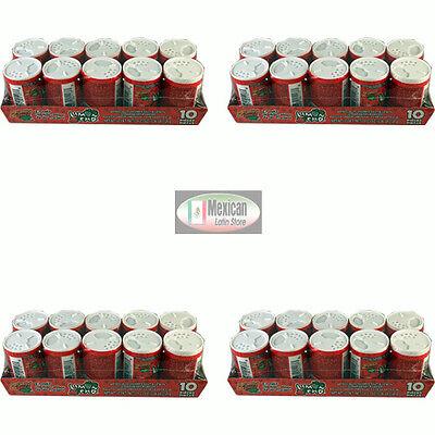 4x Limoncho Strawberry flavor Lime Salt Powder 10-pcs box Net Wt 4.2-oz