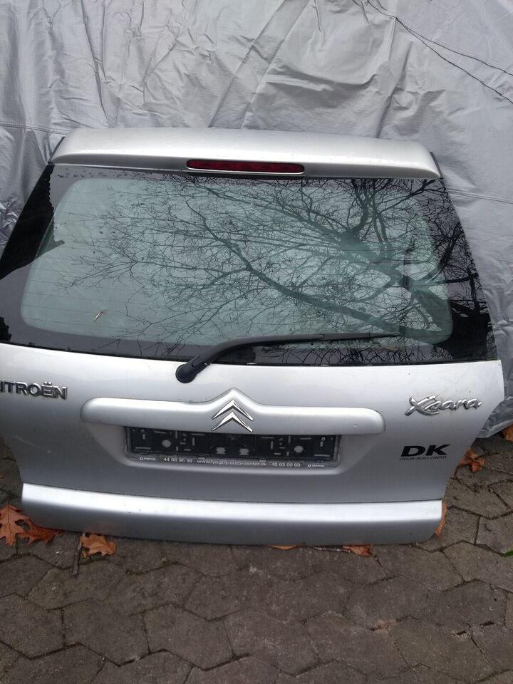 Plade- og karosseridele, Bagklap, Citroën Xsara