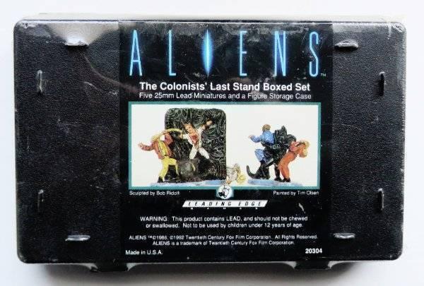 Leading Edge Aliens los colonos's Last Stand Conjunto en caja sellada 25mm 20304