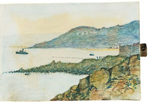 1920-Art-Journal-WATERCOLOUR-DRAWINGS-CARBIS-BAY-and-ST-IVES-Cornwall