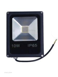 10 W Flood Light Blanc/rouge/vert/bleu/ir/380-840nm/uv Del Ip65 Outdoor Ampoule Lampe-n/blue/ir/380-840nm/uv Led Ip65 Outdoor Bulb Lamp Fr-fr Afficher Le Titre D'origine