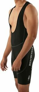 Mens-Black-Reflective-Hillcrusher-Padded-Cycling-Bibs-Shorts-Medium