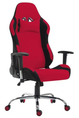 Racing Bürostuhl Rosberg Stoff Chefsessel Schreibtischstuhl Schalensitz