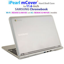 "NEW iPearl mCover® Hard Shell Case for 11.6"" SAMSUNG XE303C12 Chromebook laptop"