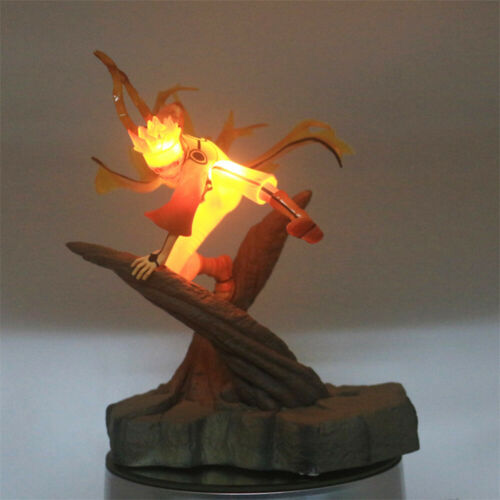 RARE Nine-tailed Naruto Naruto Model LED Light Lamp Action Figure Whole Set