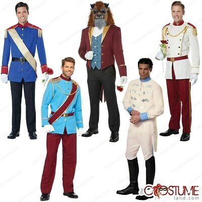 Royal Storybook Prince Charming Fairytale Renaissance Book Weeks Mens Costume