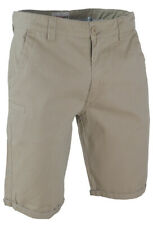 CANTERBURY Mens Putty Beige Rugby 100/% Cotton Chino Shorts Small S BNWT