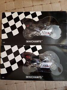 Minichamps 1:12 West Honda Pons Alex Barros et Loris Capirossi 2001 4012138041080