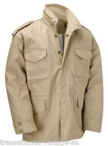 M65-Campo-Chaqueta-con-Forro-Acolchado-Vintage-Military-Abrigo-Ejercito-Hombre