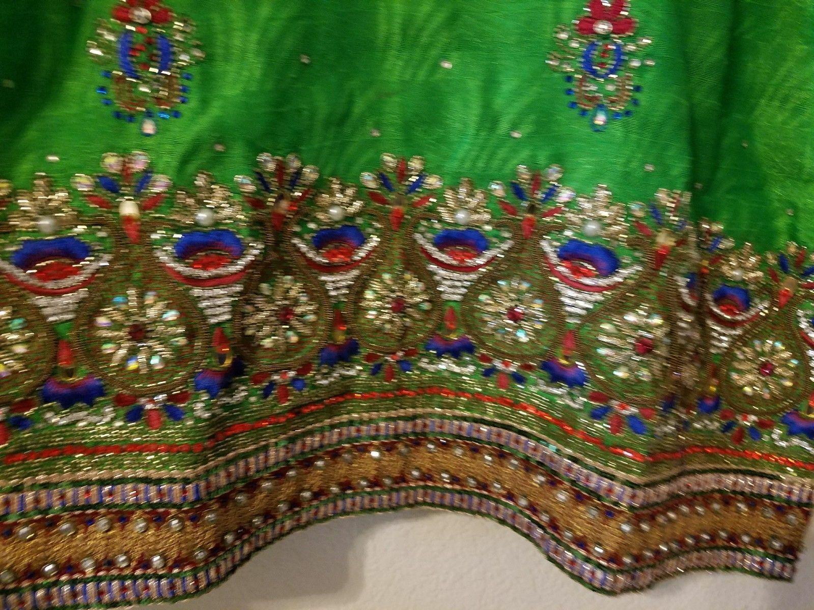 Punjabi patiala salwar suit embroidered Ethnic st… - image 2