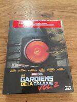 Steelbook Blu-ray 3D Les Gardiens de la Galaxie 2-avec livret de 120 pages- RARE