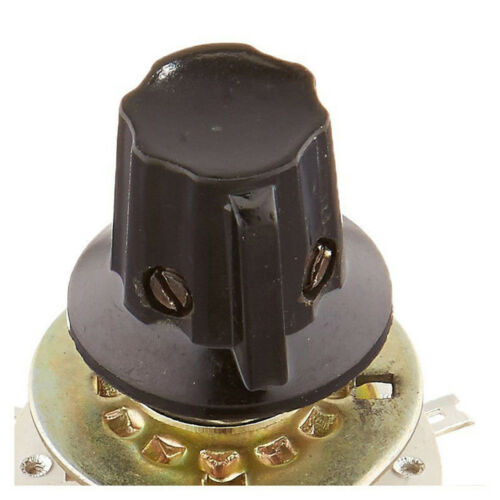 Plastic Knob 2P5T 2 Poles 5 Position Band Kanal Rotary Schalter