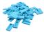 Lego 50 Pièce carrelage en moyens azurblaue 3069b Carreau 1x2 Medium société azur Neuf