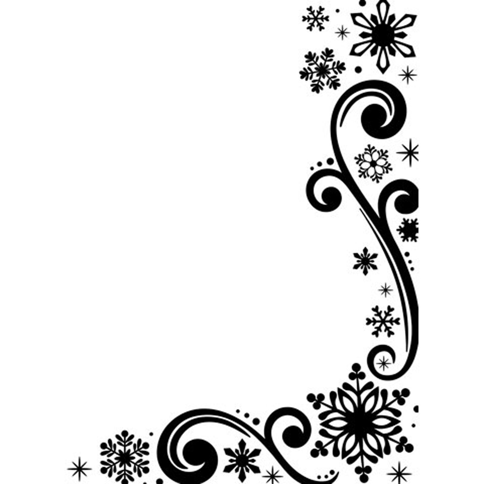 4.25 By 5.75-inch Daric 1218-117 Embossing Folder Snowflake Scroll Design