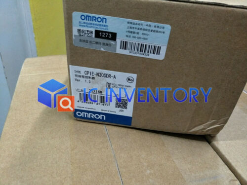 1PCS New Omron CP1E-N30SDR-A PLC Module In Box