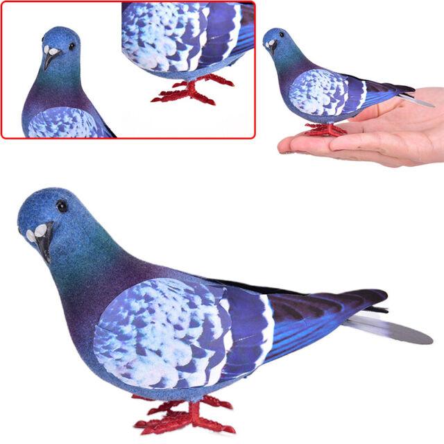 Simulation Foam Pigeon Model Artificial Imitation Bird Garden Toy Decor