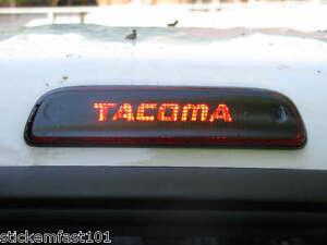Toyota Tacoma 3rd Brake Light Decal Overlay 05 06 07 08 09