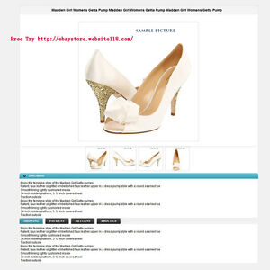 ebay listing template generate product description two free