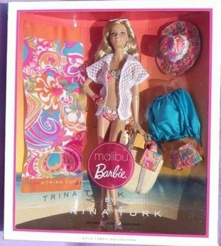 Barbie MALIBU by TRINA TRUK plage beach maillot 2012 Mattel Mattel Mattel X8259 poupée neuve 6910ad