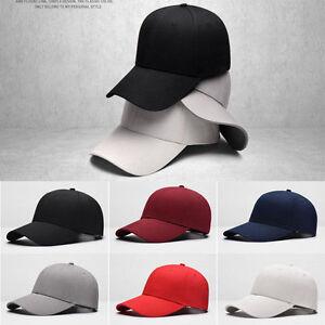 bc860c794a0 Image is loading 2019-Men-Women-New-Black-Baseball-Cap-Snapback-