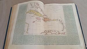 Cartina Geografica Haiti.Old Map Carta Geografica 1843 Central America Antille Cuba Haiti Bahamas 12 17 Ebay
