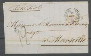 1854-lettre-CAD-ST-PIERRE-MARTINIQUE-Colonies-Rge-par-le-RACKET-TTB-H2163