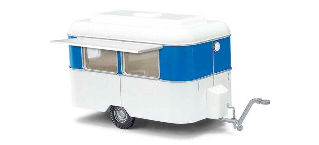 "Busch 51750 # nagetusch caravanas en /""azul-blanco/"" 1:87 nuevo"