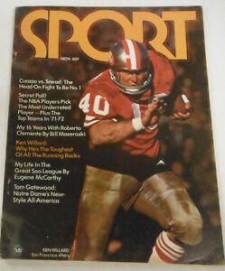 Sport-Magazine-Ken-Willard-amp-Cuozzo-Vs-Snead-November-1971-NO-ML-072414R