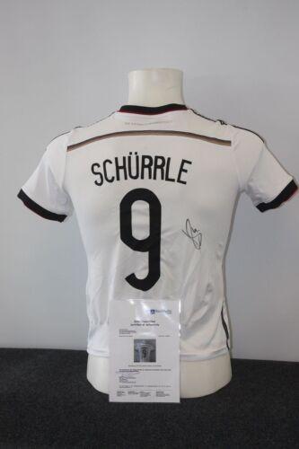 Andre Schürrle signiert BVB Borussia Dortmund 152 Deutschland Trikot DFB