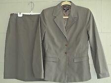 Mexx Women Cotton/Polyamide/Elastane Professional Skirt Suit-Taupe-NWOT-4/6