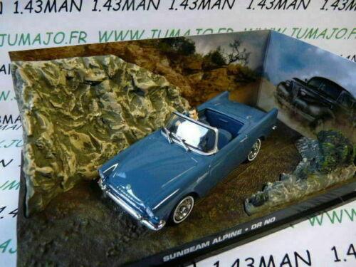 SUNBEAN Alpine Dr.No JB18E voiture 1//43 IXO altaya 007 JAMES BOND