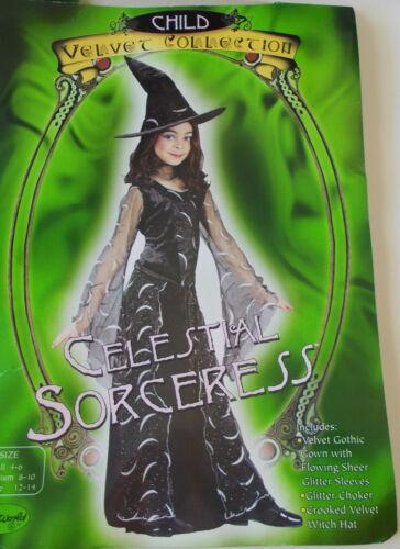 WMU 567486 Small Celestial Sorceress Child Costume With Polyester Velvet & WMU 567486 Small Celestial Sorceress Child Costume With Polyester ...