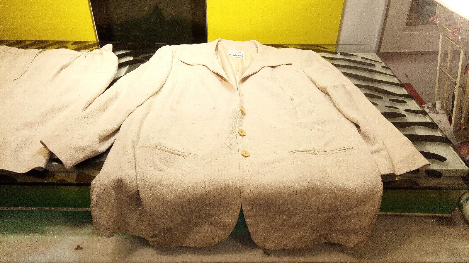Tamotsu New York For Holt Renfrew Womens Skirt Set 3 pc Size 2 Good vintage