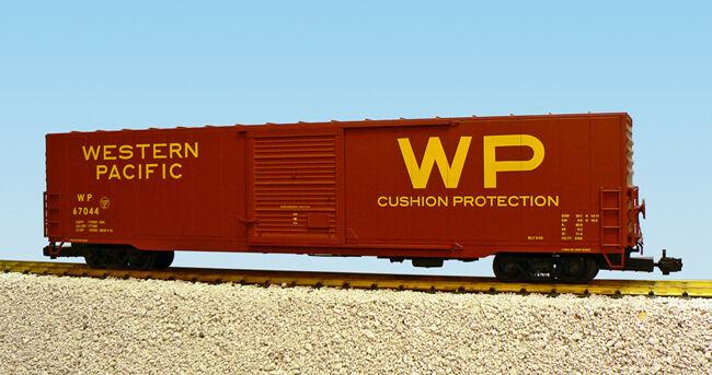 USA Trains G Escala 60 pies solo puerta coche de caja R19423A Pacífico Occidental