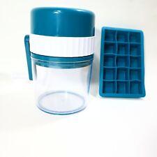 Manba Ice Shaver And Snow Cone Machine Premium Manual Portable Ice Crusher
