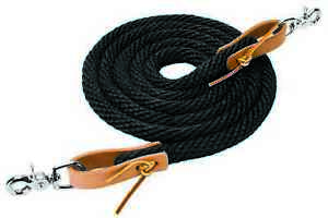 Weaver-Leather-Horse-Poly-Roper-Rein-With-Leather-Leather-Water-Loop-Ends-10-039