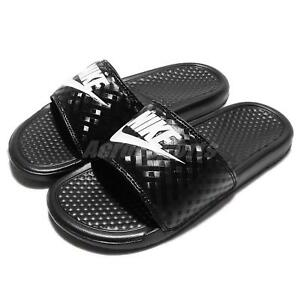 725bdd7f7a52 Wmns Nike Benassi JDI Black Diamond Women Sandal Slides Slippers ...