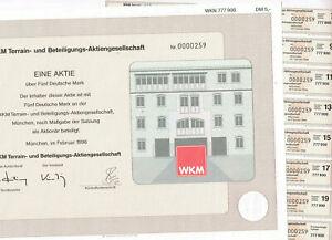WKM-Terrain-und-Beteiligungs-AG-Muenchen-1996-5-DM-VF