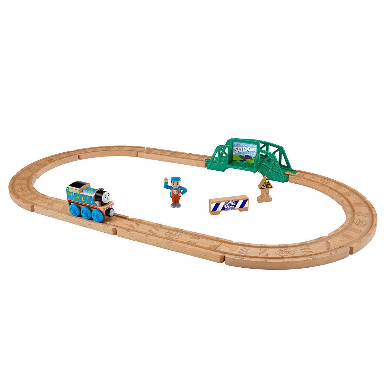 NEW  Thomas & Friends Wooden Railway 5-in-1 Builder Set ( clarkstc)