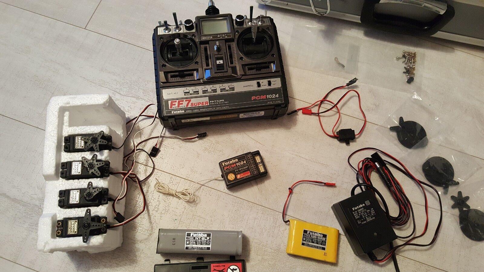 FUTUBA PCM 1024 controller & micro receivers