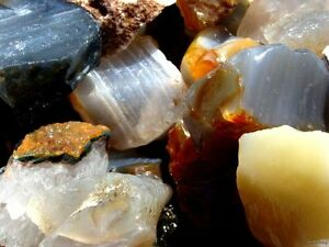 Natural-Bazilian-Agate-Rough-3000-CARAT-Lots-Gemstone-Rough-Rocks-Tumbler