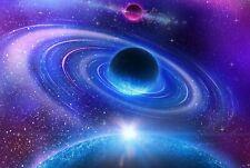 A4 Space Nebula Galaxy Stars NASA Poster 29.7X21cm280gsm #15518