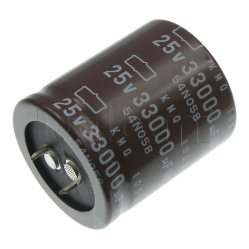 18-01-0612 Snap In Electrolytic Capacitor 25V 33000UF 105C 35X41MM
