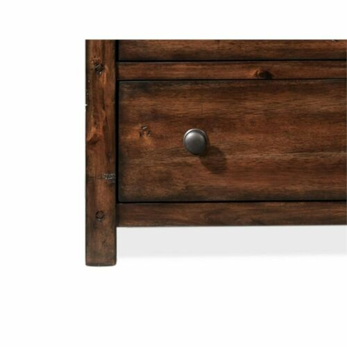 Picket House Furnishings Danner Nightstand in Chestnut