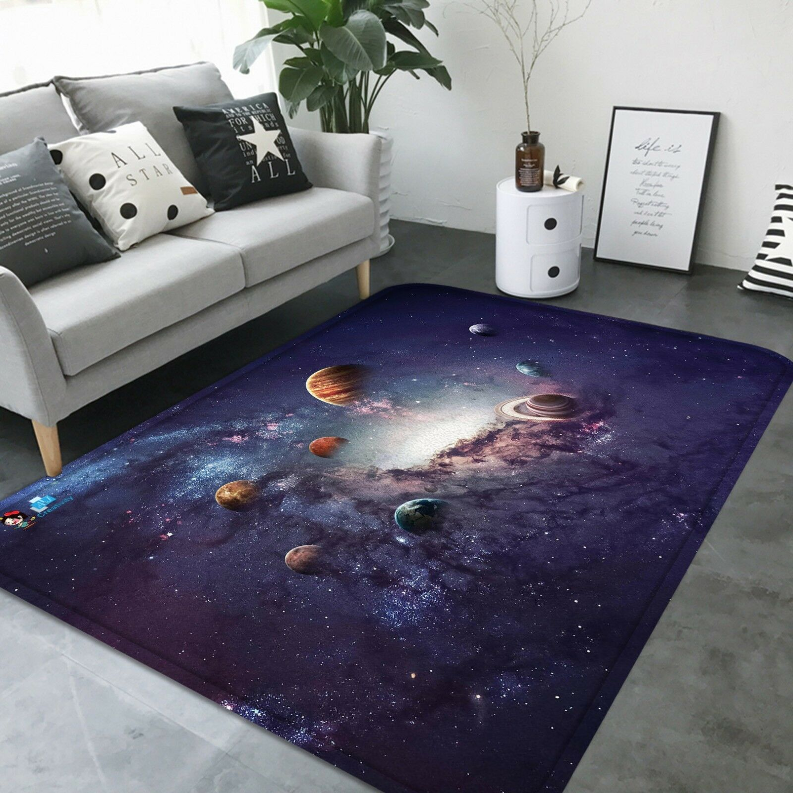 3D Planet 05 tappetino antiscivolo tappeto camera Tappetino Qualità Qualità Qualità Elegante foto Tappeto UK Estate 0189ee