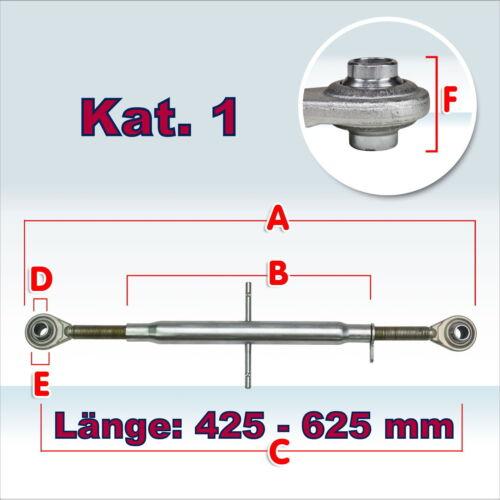 23211 Oberlenker Kat I 27x2,5 Hülsenlänge 320mm