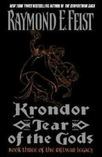 The Riftwar Legacy: Krondor : Tear of the Gods Bk. 3 by Raymond E. Feist (2001, Hardcover)