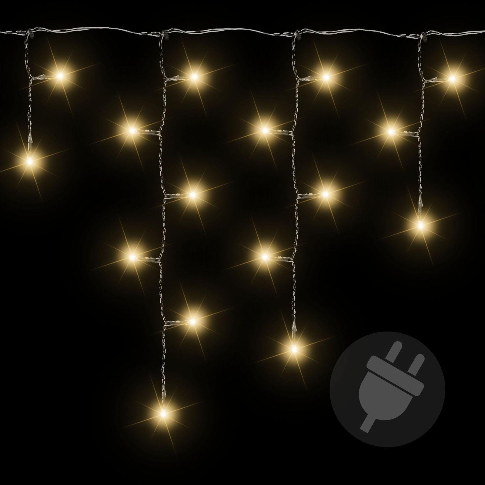 600er cadena luces LED engelante simplón blancooo cálido exterior