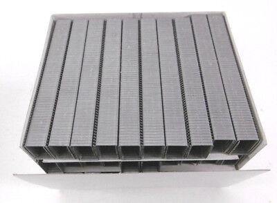 verzinkt21 mm NEU OVP 5000 Stück BeA Heftklammern Typ 195//21NK-Stahl